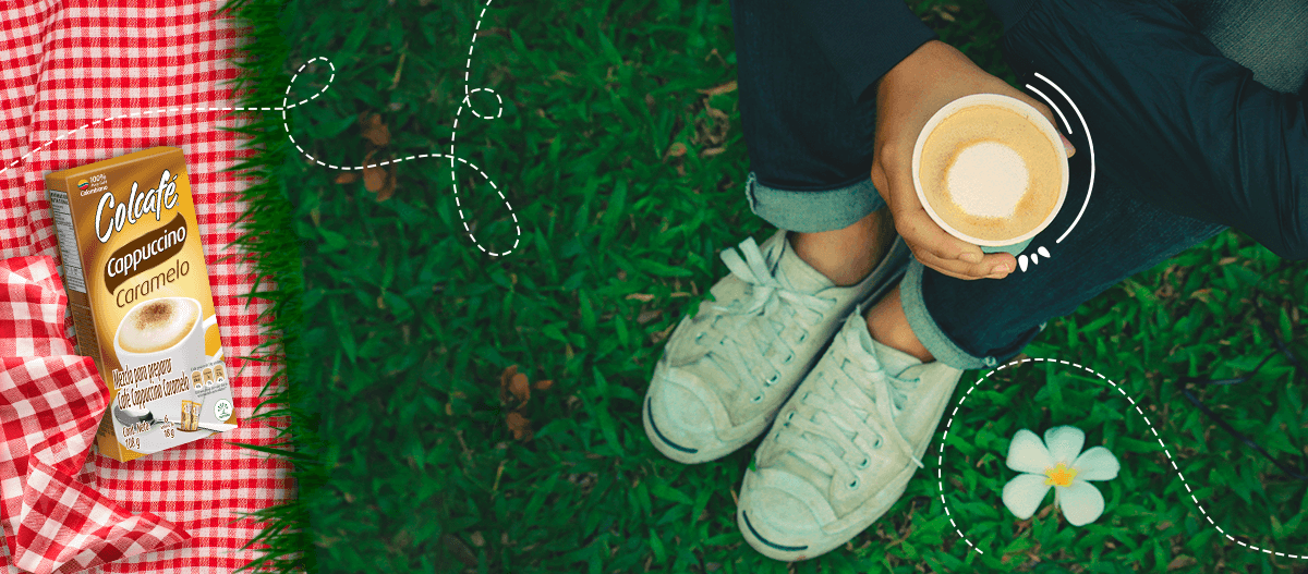 cappuccino caramelo evoca tus momentos felices